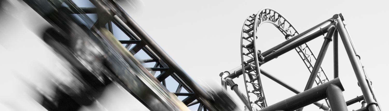 Entertainment image of theme park ride